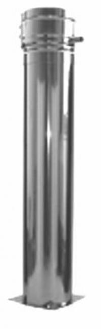 Опорный патрубок-телескоп 60 - 520 мм, с элементом dw 06