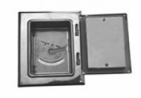 Дверка ревизии 210x140 мм двойная для защиты от сажи, вставка 70 мм
