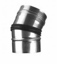Колено регулируемое 0-30° с наружным уплотнительным кольцом
