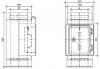 Ревизия с прямоугольным лючком, дверкой и ограничителем тяги